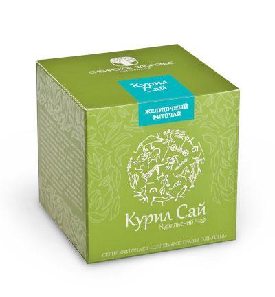 БАД Фиточай Курил Сай (Курильский чай) зеленая упаковка
