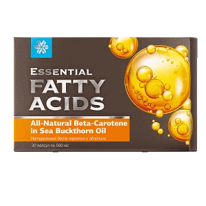 Натуральный бета-каротин и облепиха — Essential Fatty Acids