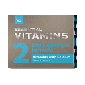 Витамины с кальцием — Essential Vitamins