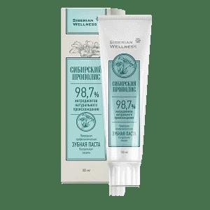 Зубная паста Натуральная защита — Сибирский прополис