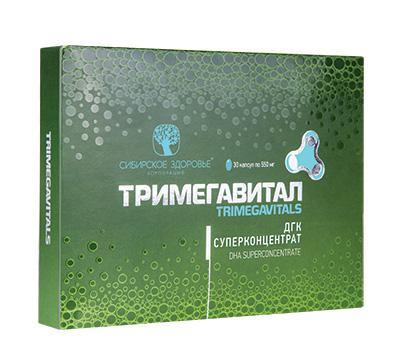 Тримегавитал. ДГК Суперконцентрат (Trimegavitals. DHA Superconcentrate)