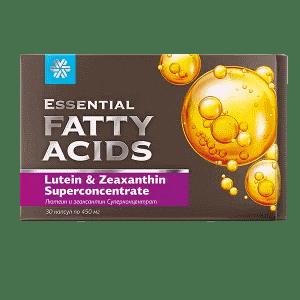 Лютеин и зеаксантин — Essential Fatty Acids