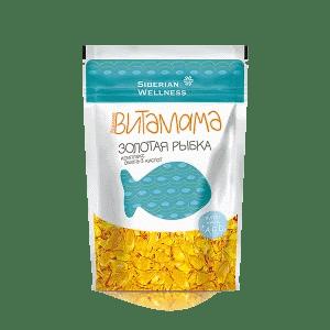 Золотая рыбка. Комплекс омега-3 кислот для детей — Витамама