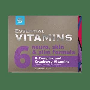 Северная клюква и В-витамины — Essential Vitamins