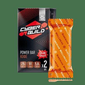 Dual Shot (кофе), батончик энергетический — Cyber Build