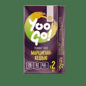 Батончик Yummy (марципан-кешью) — Yoo Gо