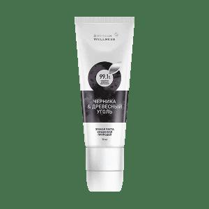 «Черника & древесный уголь», биоактивная зубная паста