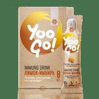 Напиток Immuno Drink (Защита иммунитета) «Лимон-имбирь» - Yoo Gо
