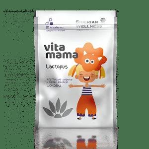 Lactopus, хрустящие шарики с какао-маслом (шоколад) — Vitamama